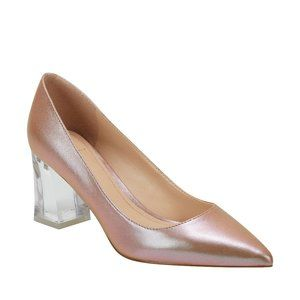 Marc Fisher LTD Zala Metallic Pointed Toe Pump